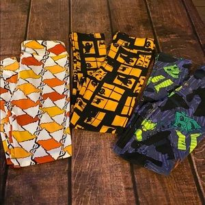 NEW LuLaRoe Kids L/XL Vintage Halloween Leggings
